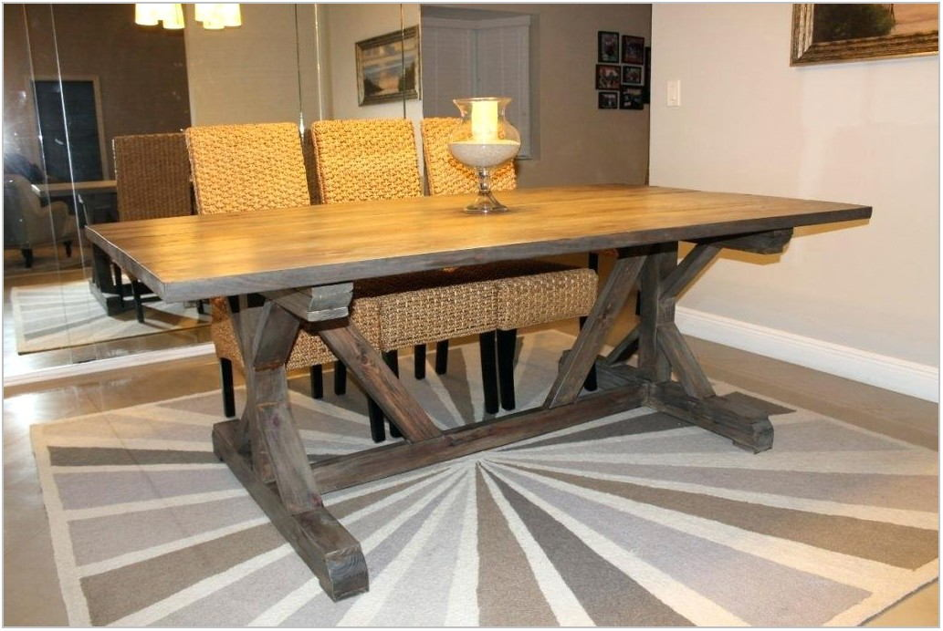 Dining Room Farm Table With Bench