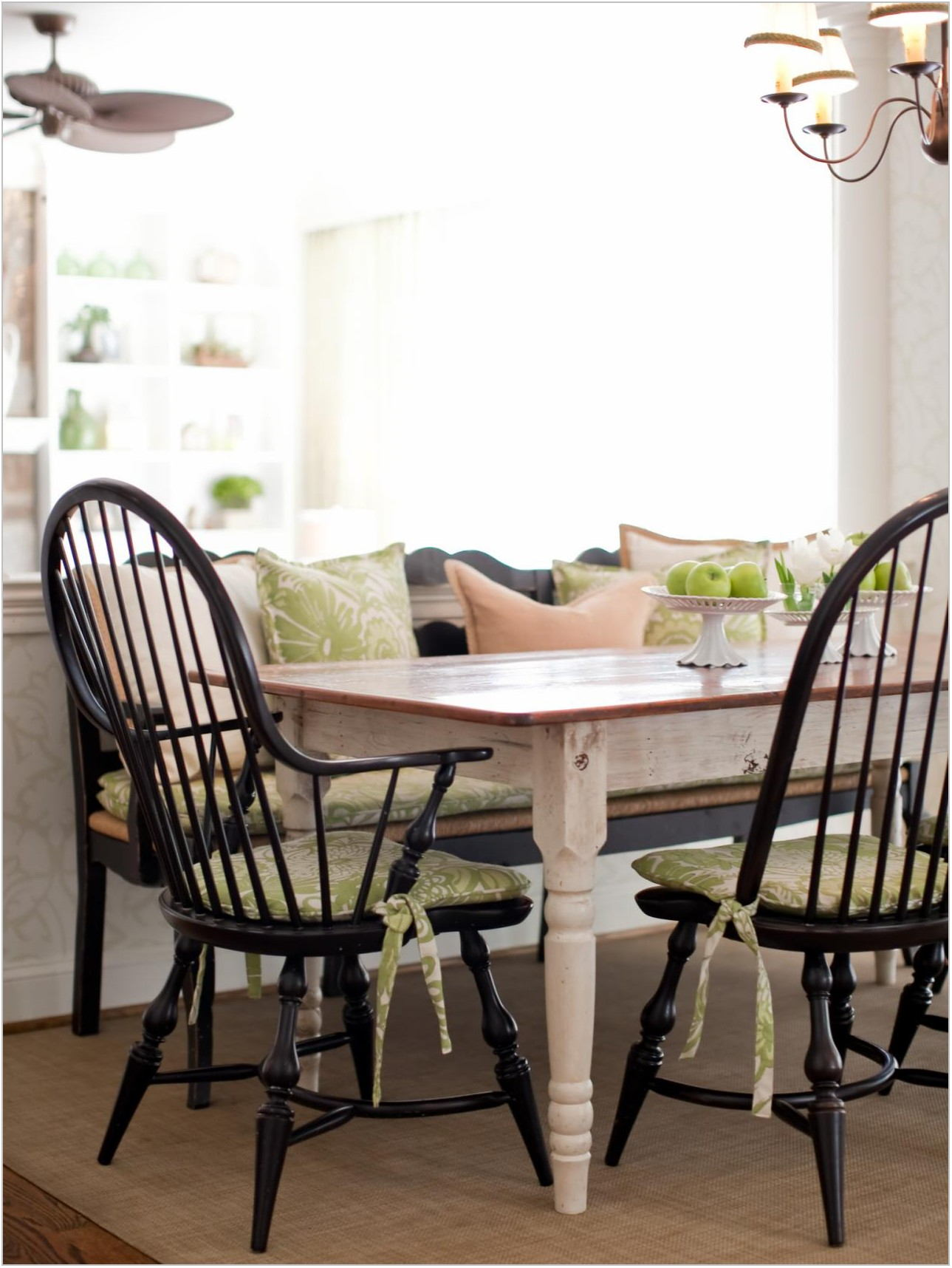 Dining Room Seat Cushions With Ties