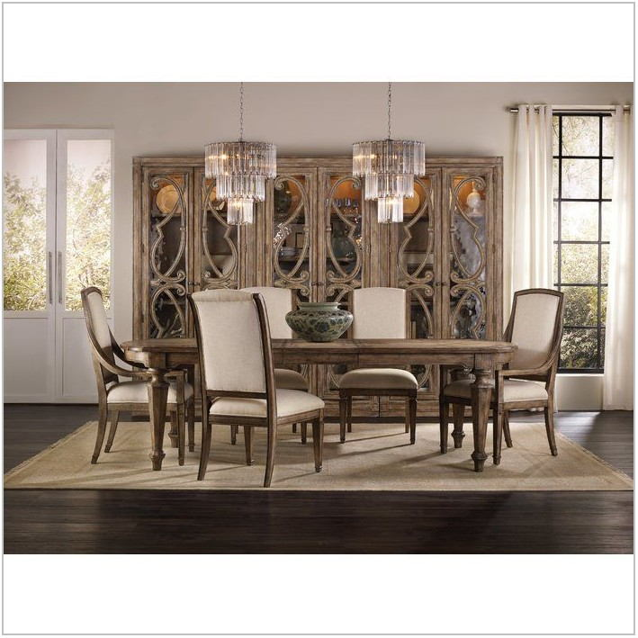 Dining Room Set With Curio Cabinet