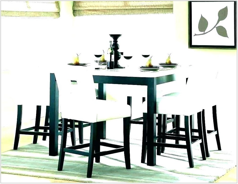 Dining Room Set With Lazy Susan