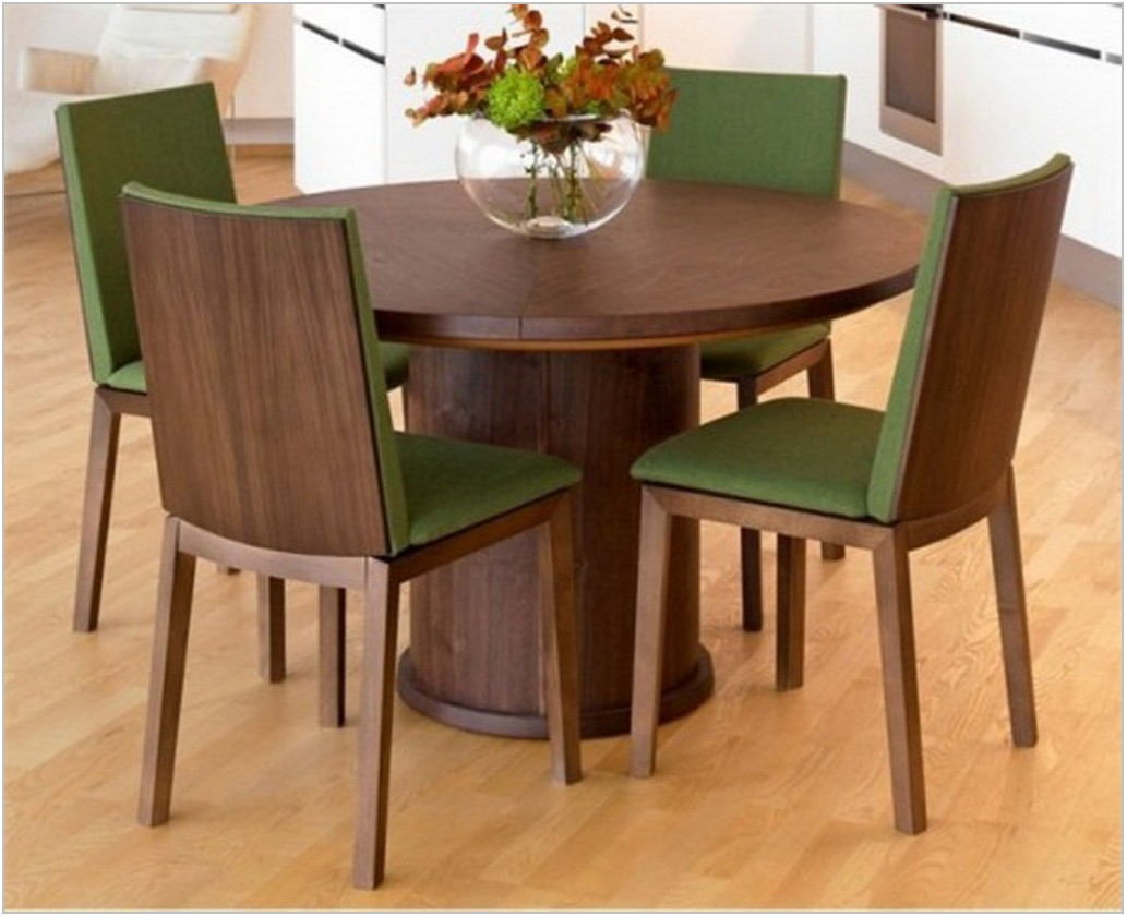 Dining Room Set With Multi Colored Chairs