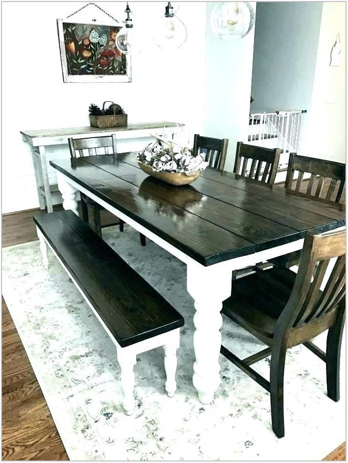 Dining Room Set With Upholstered Bench