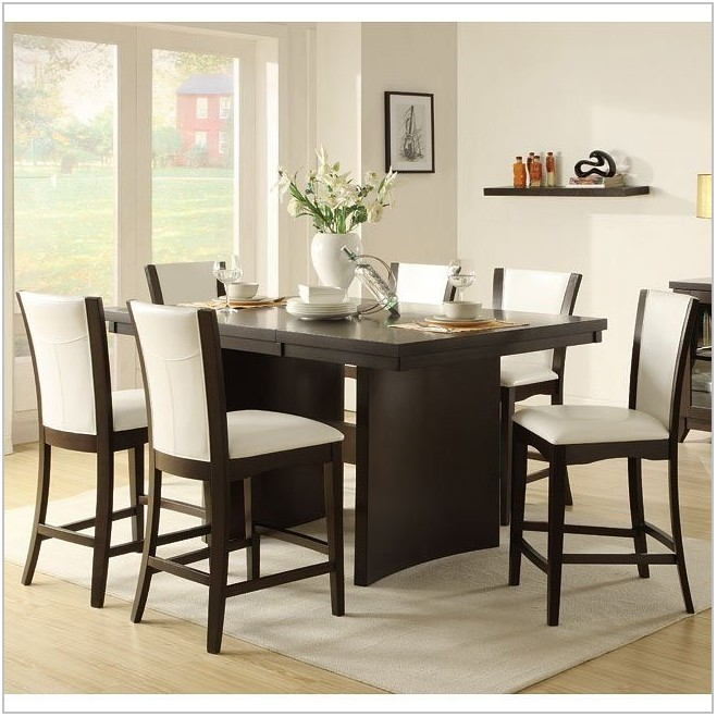 Dining Room Set With White Chairs