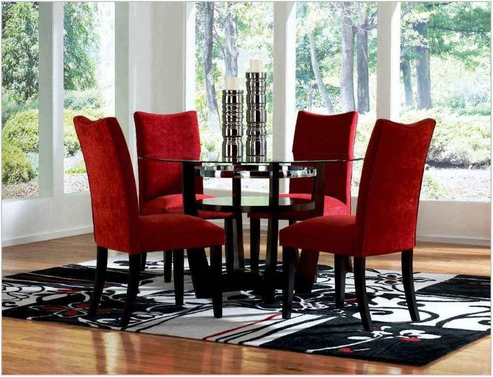 Dining Room Sets Round Glass