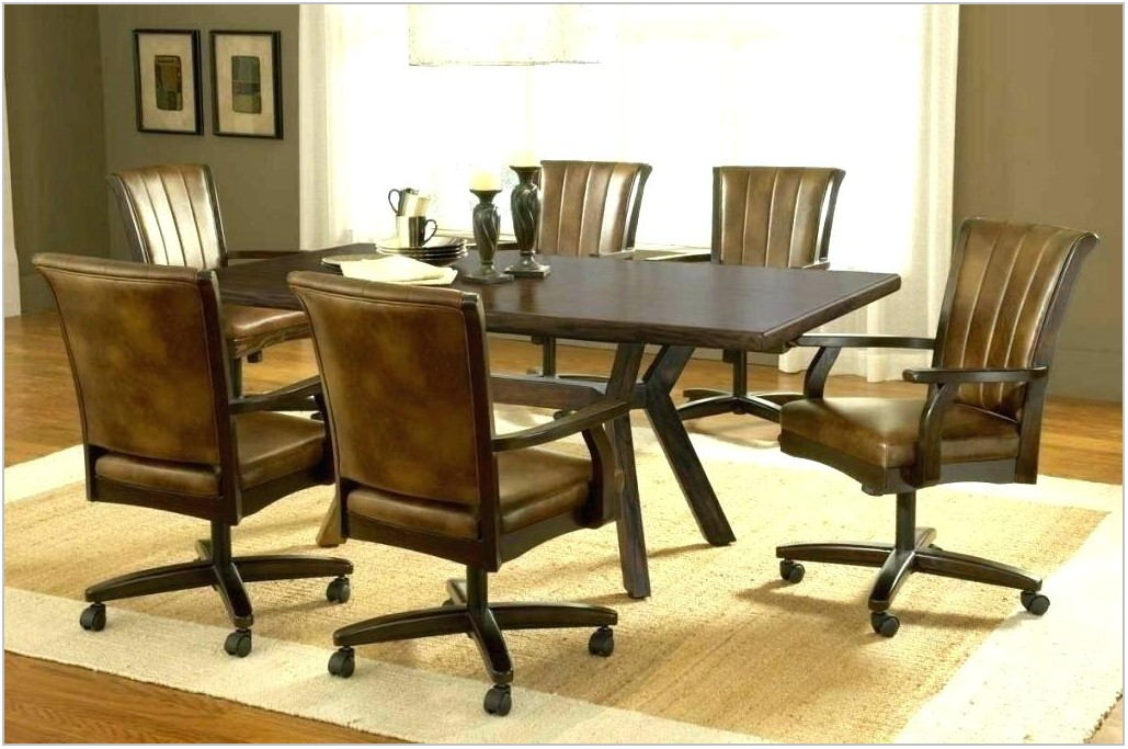 Dining Room Sets With Casters
