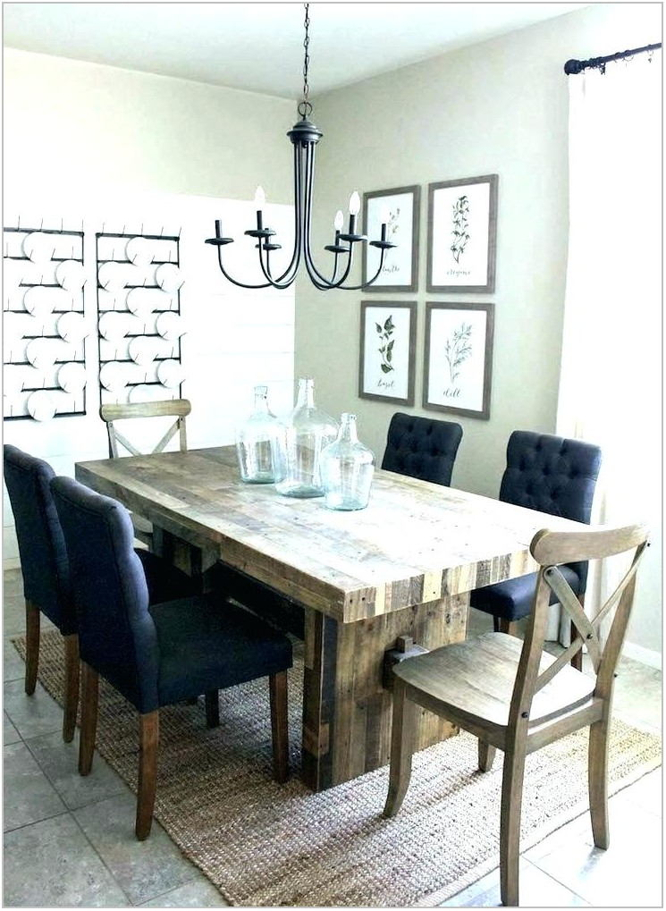 Dining Room Table And Chairs Farmhouse