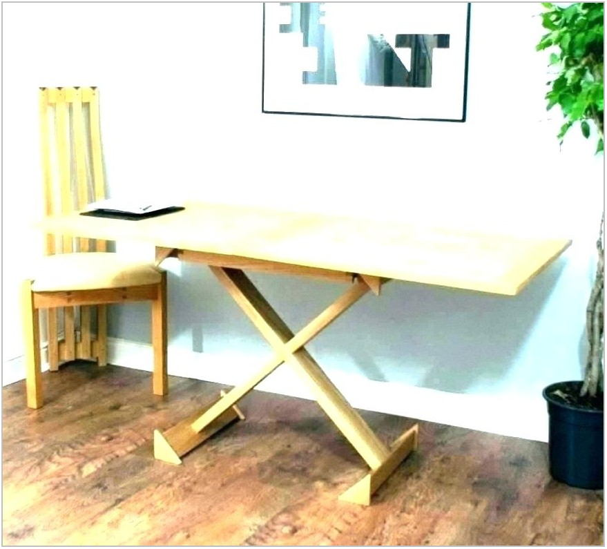 Dining Room Table Desk Combo