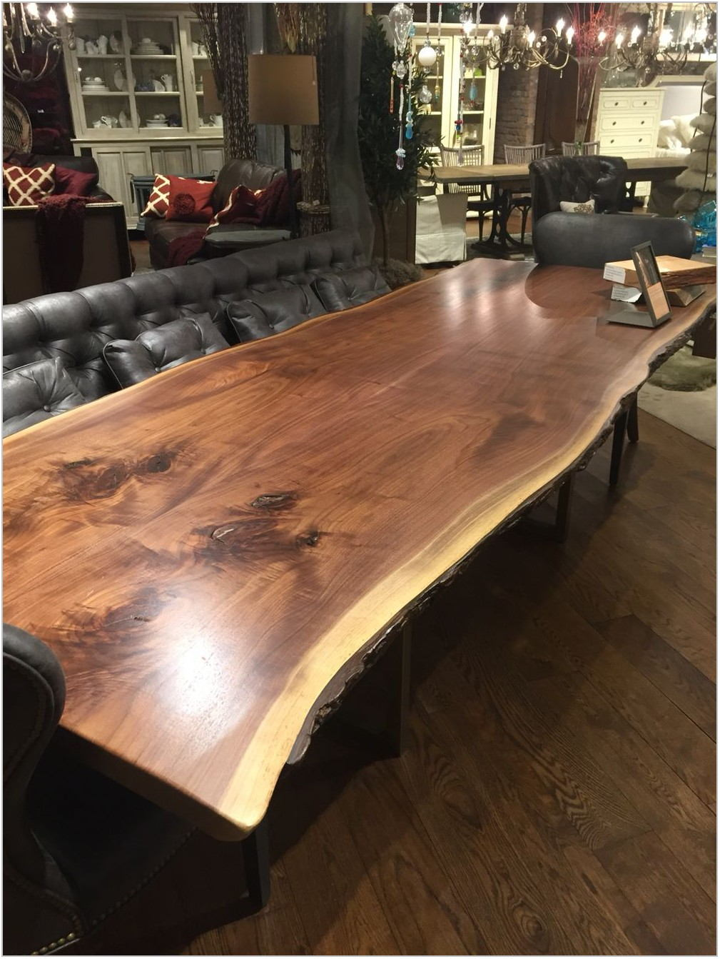 Dining Room Table Live Edge