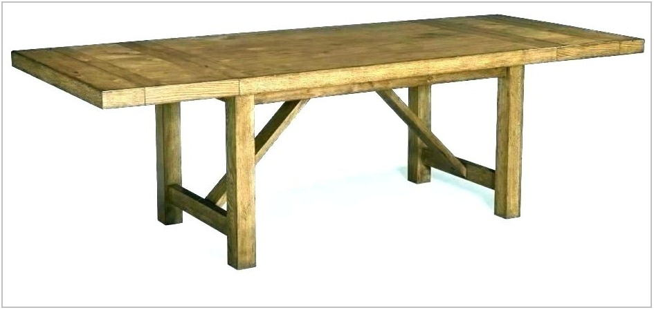 Dining Room Table Trestle Legs