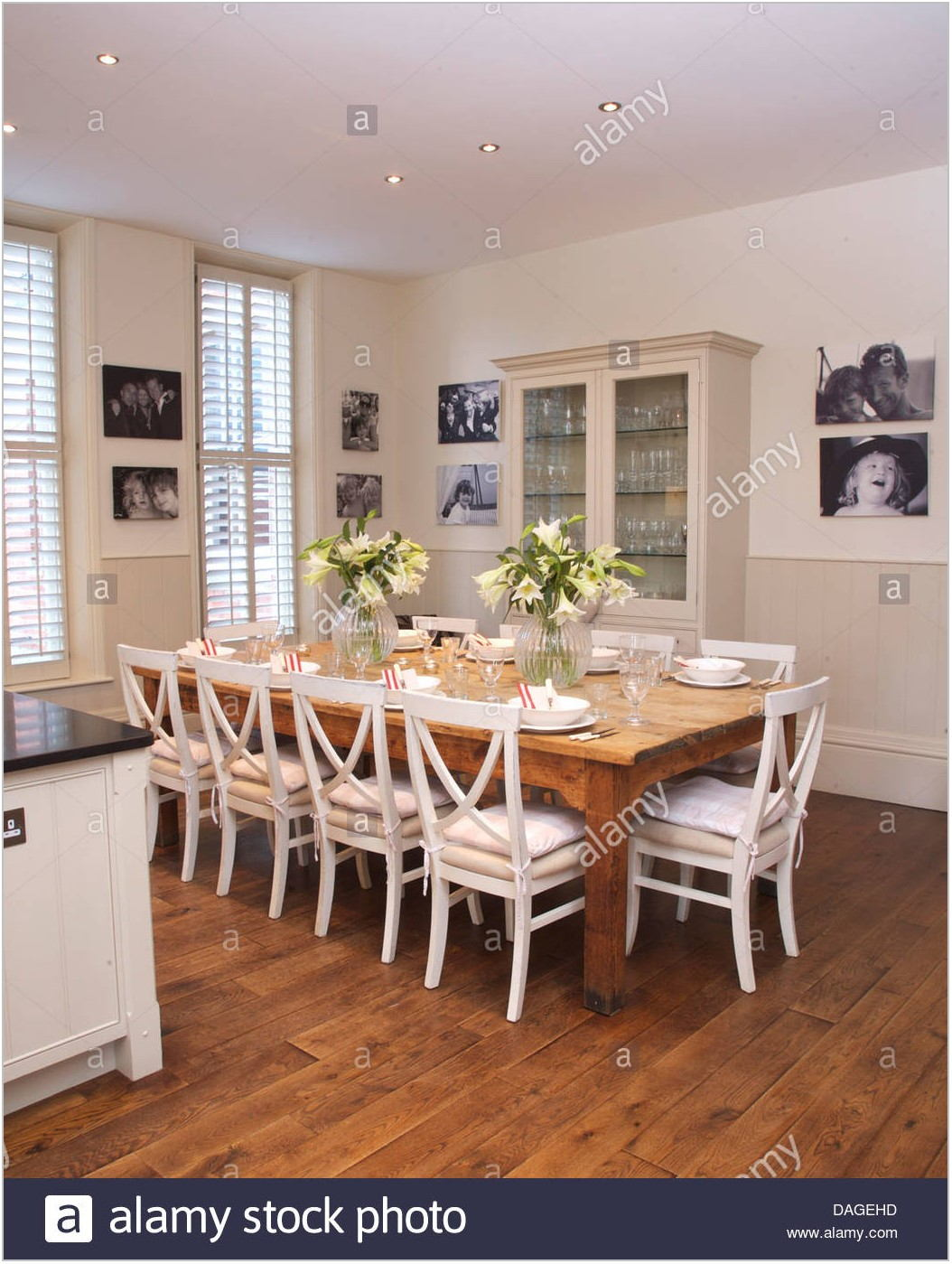 Dining Room Table White Chairs