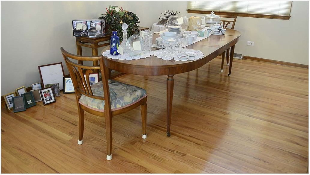 Dining Room Table With 3 Leaves