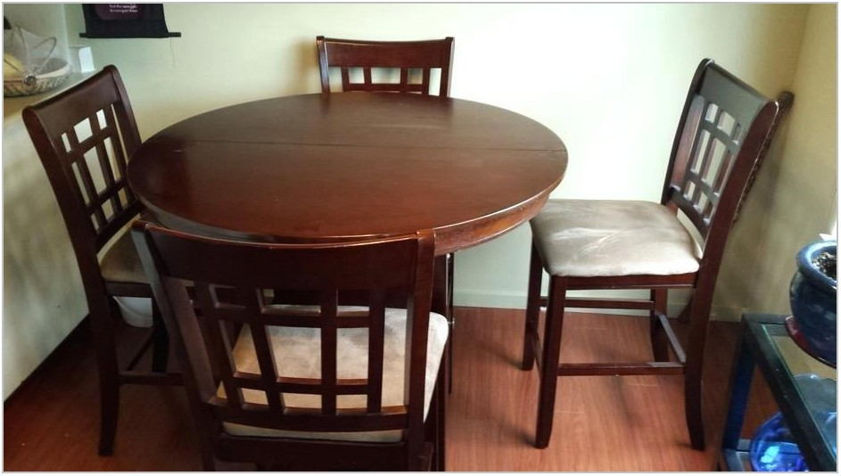 Dining Room Table With Bar Stools