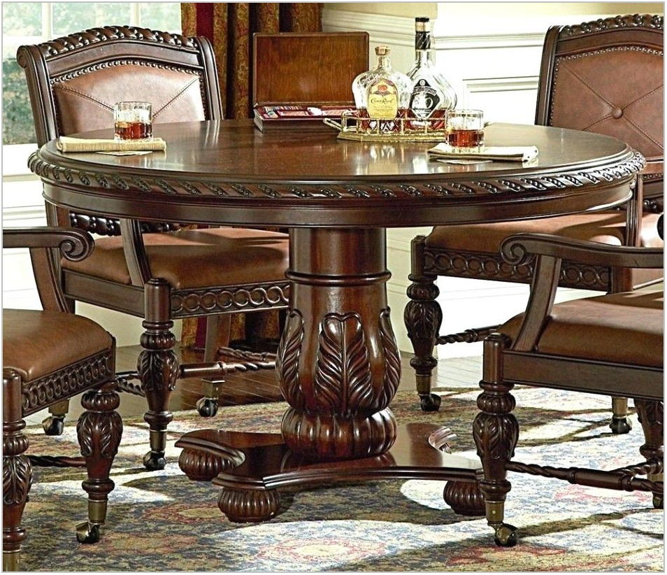 Dining Room Table With Caster Chairs