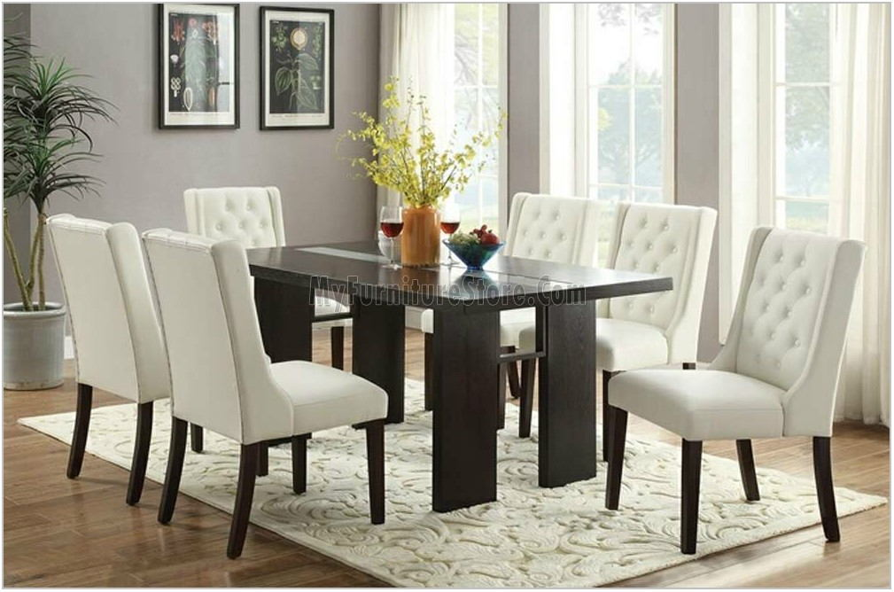 Dining Room Table With Leather Chairs