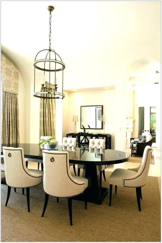 Dining Room Table With Tufted Chairs