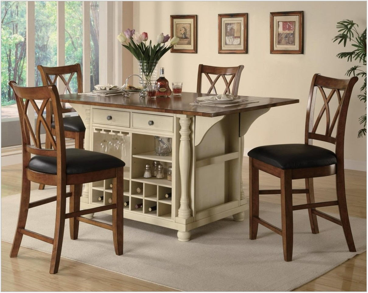 Dining Room Table With Wine Rack