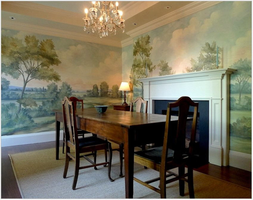 Dining Room Wallpaper Murals