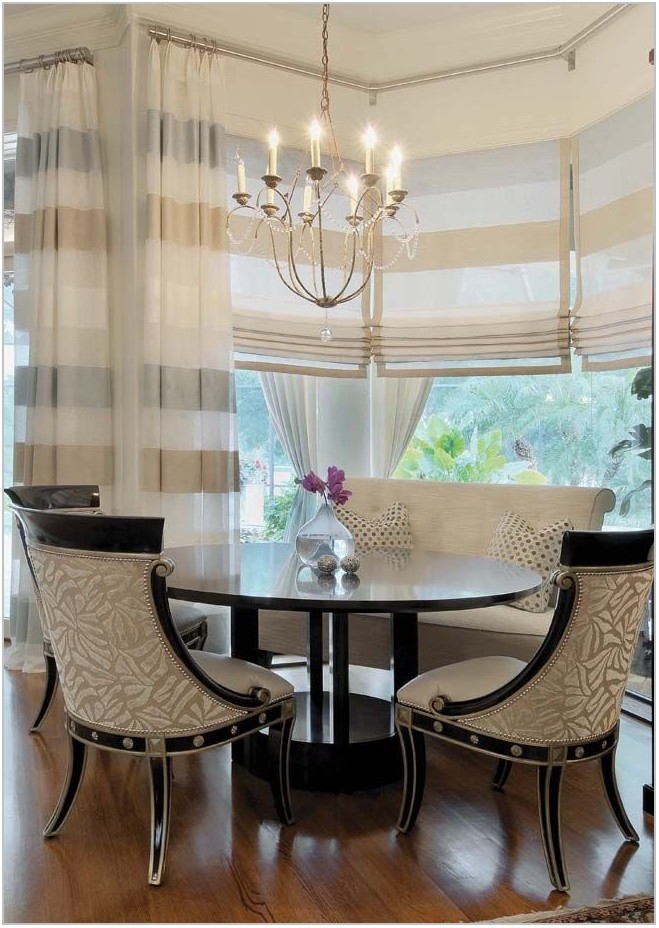 Dining Room Window Treatments 2019