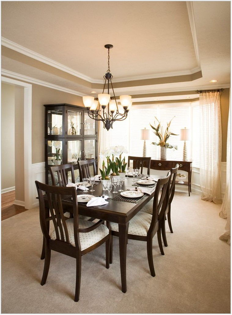 Dining Room Windows Design