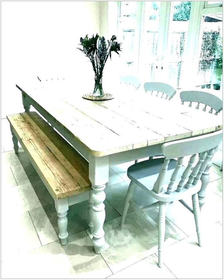 Distressed White Dining Room Chairs