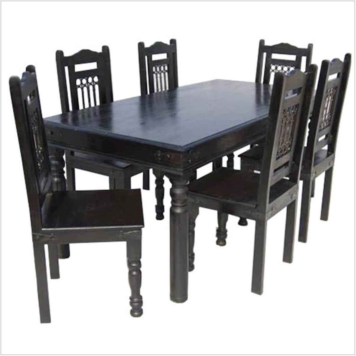 Ebony Dining Room Table