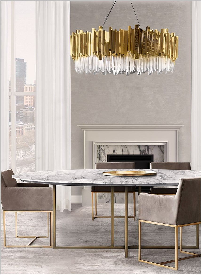 Elegant Dining Room Lighting