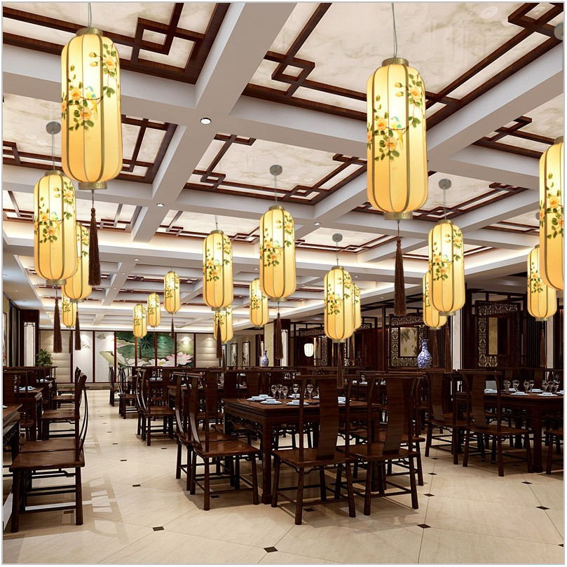Elongated Dining Room Chandelier