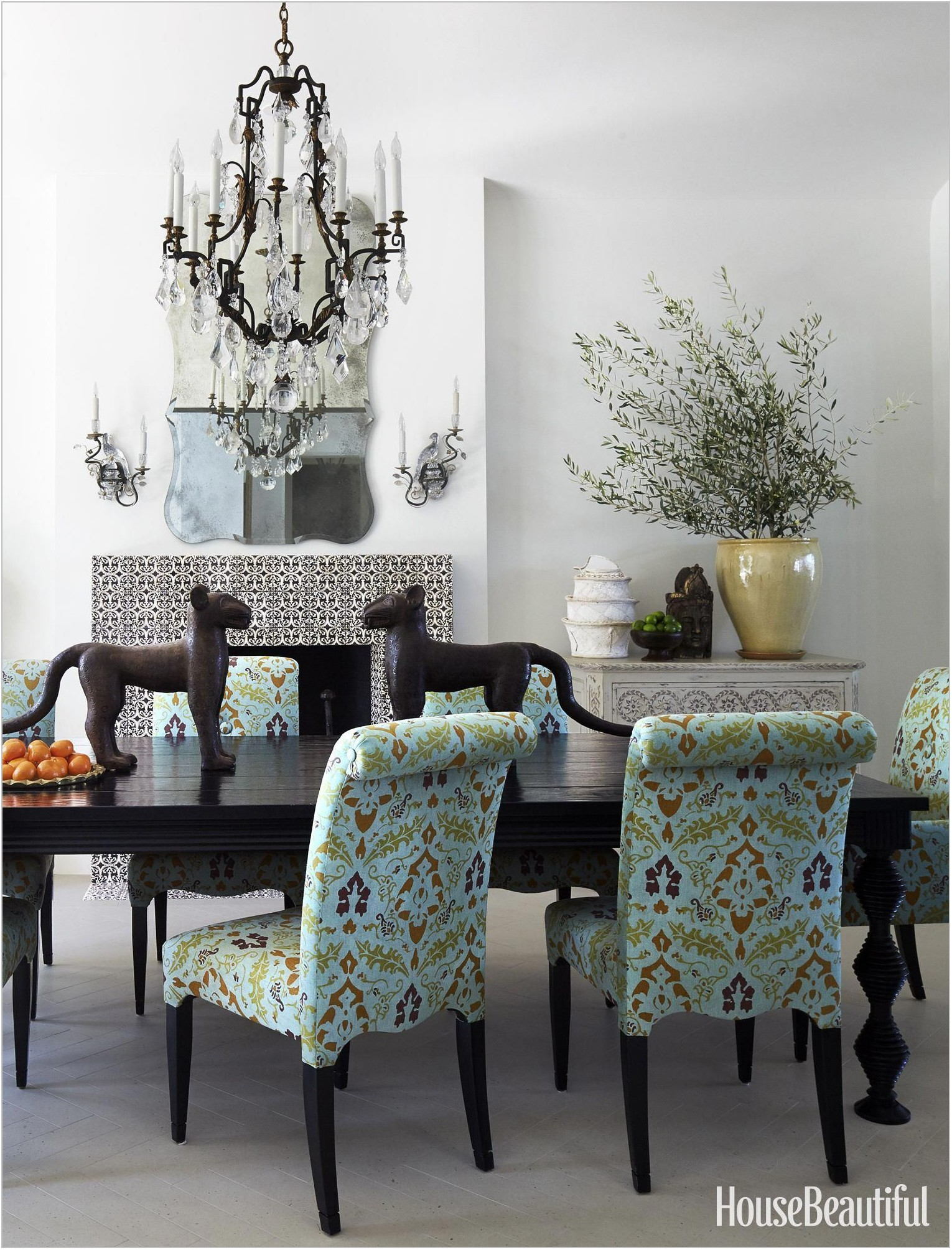 Exotic Dining Room Chairs