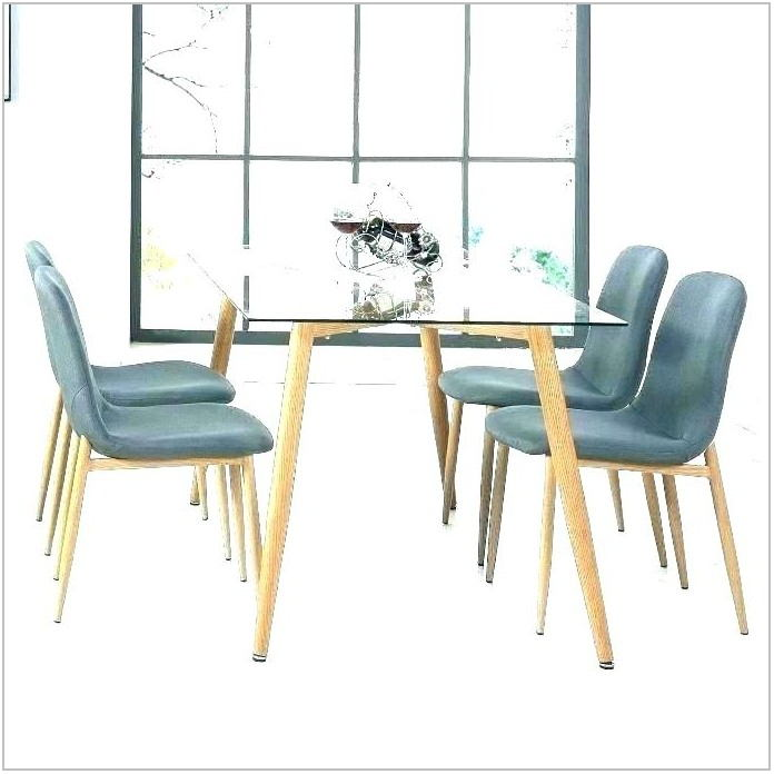 Expandable Glass Dining Room Table