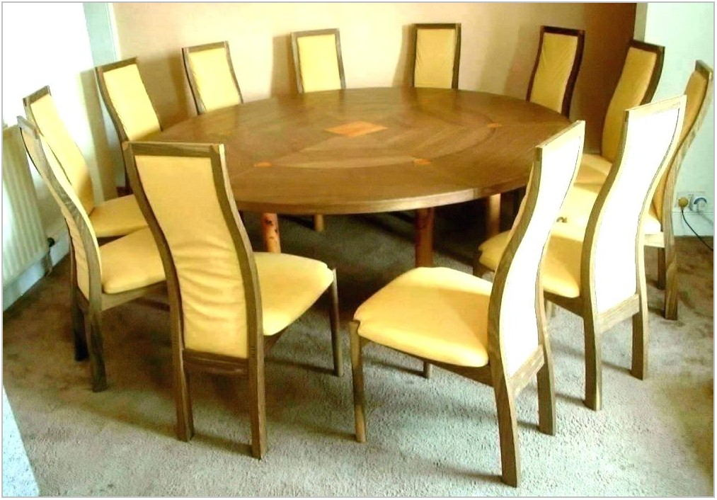 Extendable Dining Room Table For 12