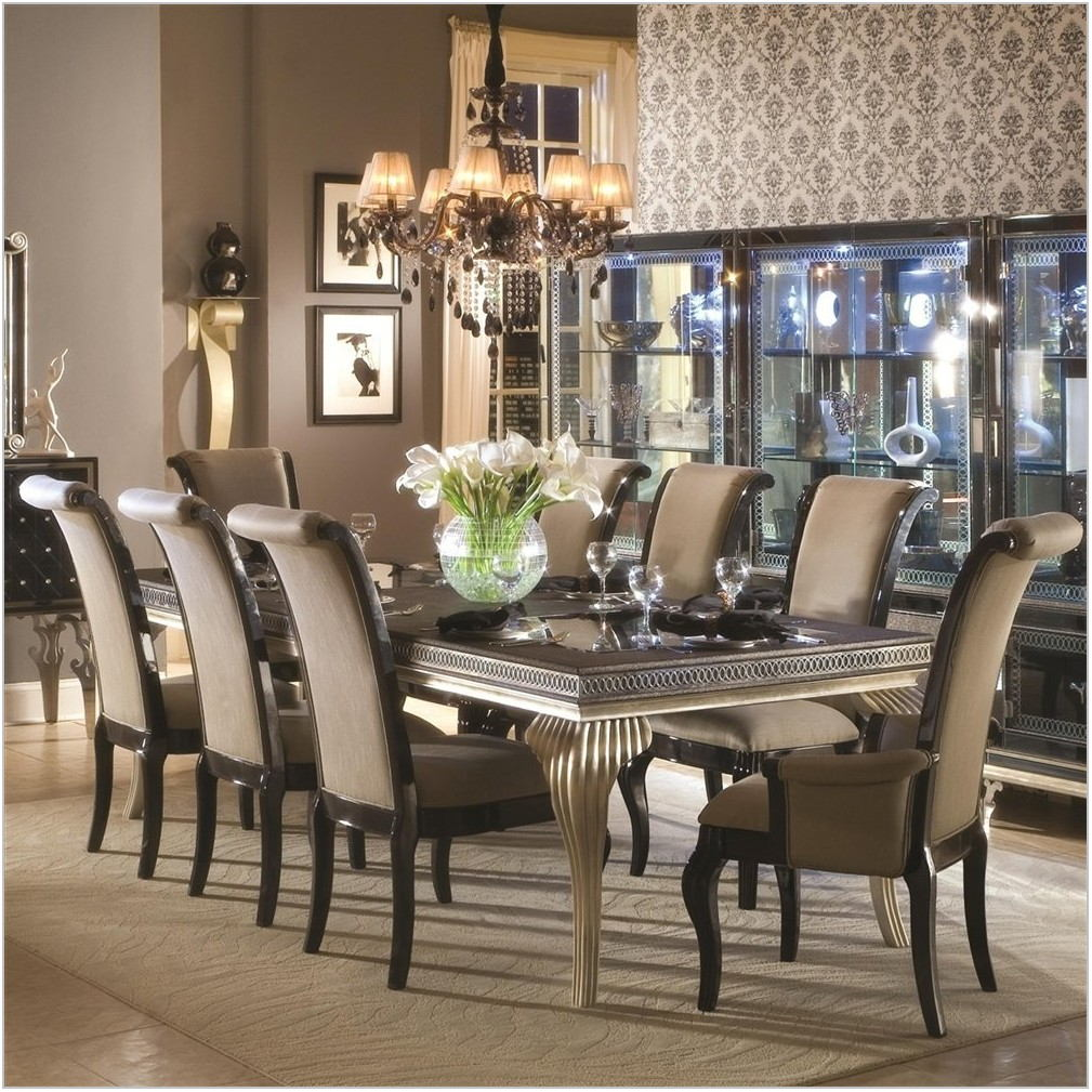 Fancy Dining Room Table