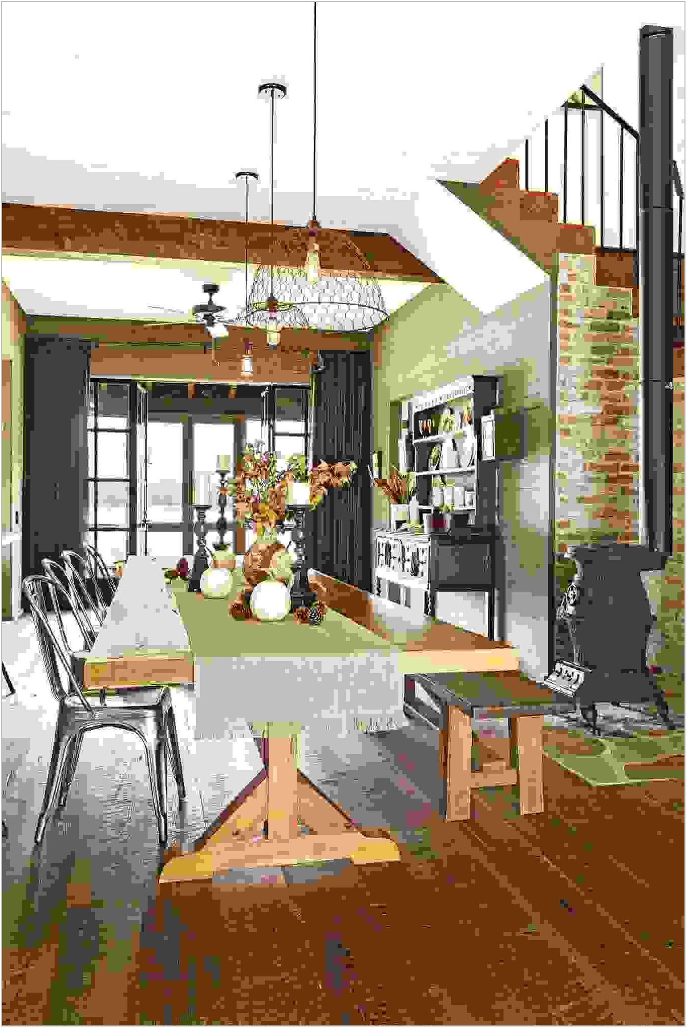 Farm Style Dining Room Light