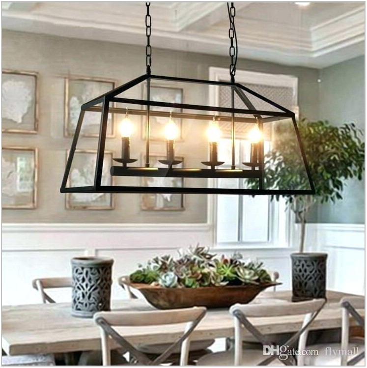 Farmhouse Chic Dining Room Chandelier