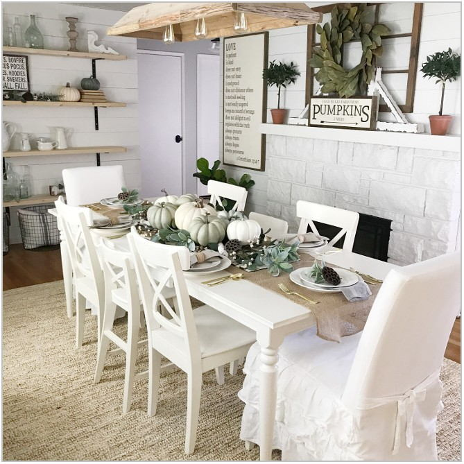 Farmhouse Decor Dining Room