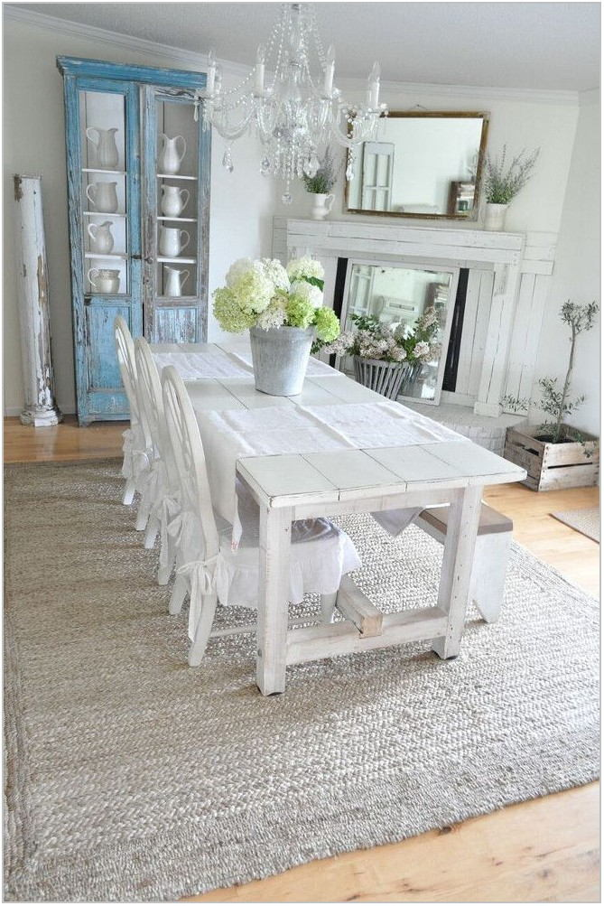 Farmhouse Dining Room Area Rug