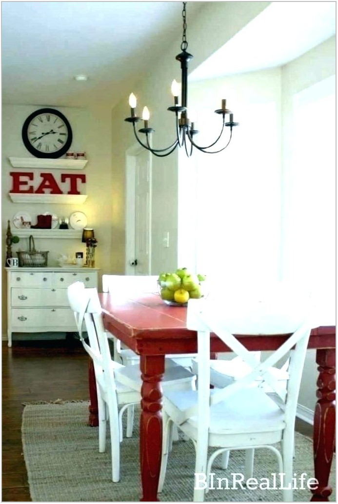 Farmhouse Dining Room Fixtures
