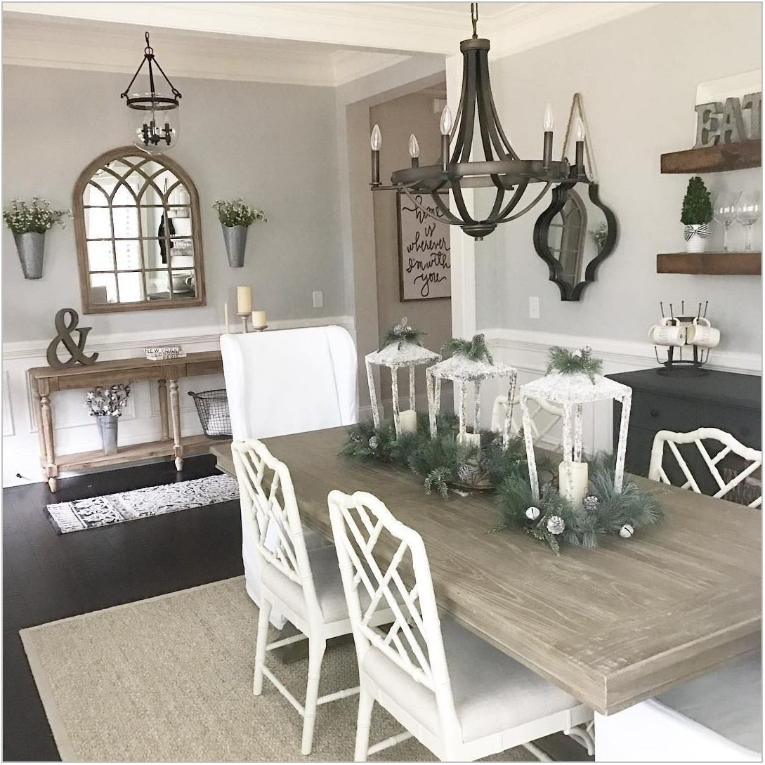 Farmhouse Dining Room Mirror