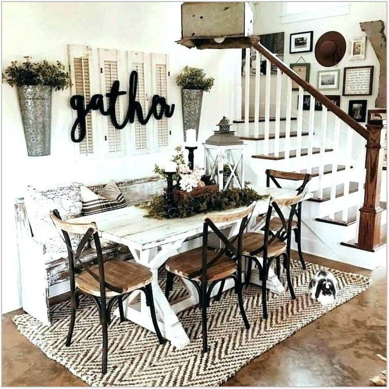 Farmhouse Dining Room Rug Ideas