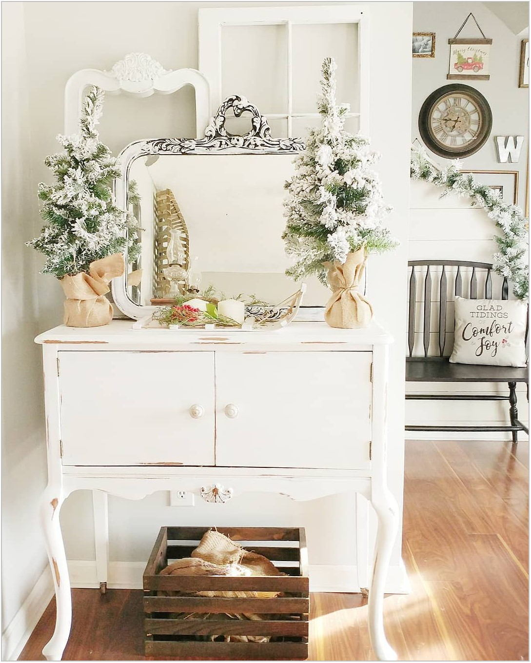 Farmhouse Dining Room Sideboard