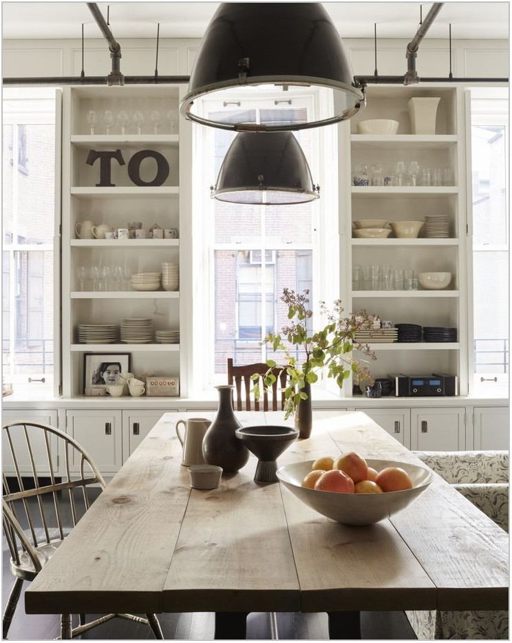 Farmhouse Industrial Dining Room