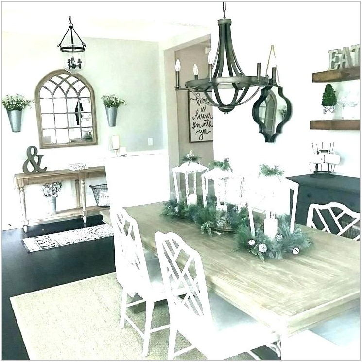 Farmhouse Lighting Fixtures Dining Room