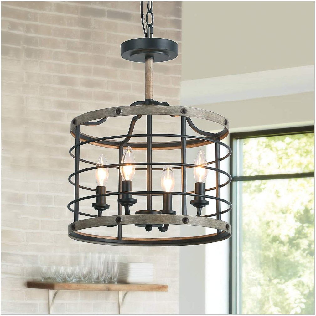 Farmhouse Pendant Light Dining Room