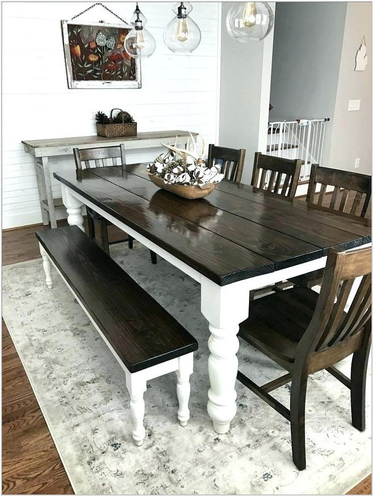 Farmhouse Style Dining Room Set