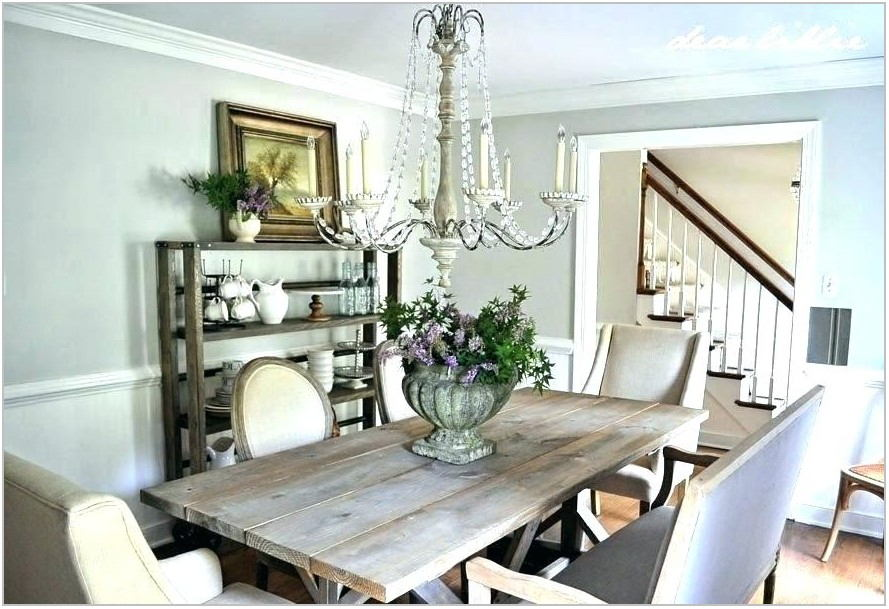 Farmhouse Style Lighting Dining Room