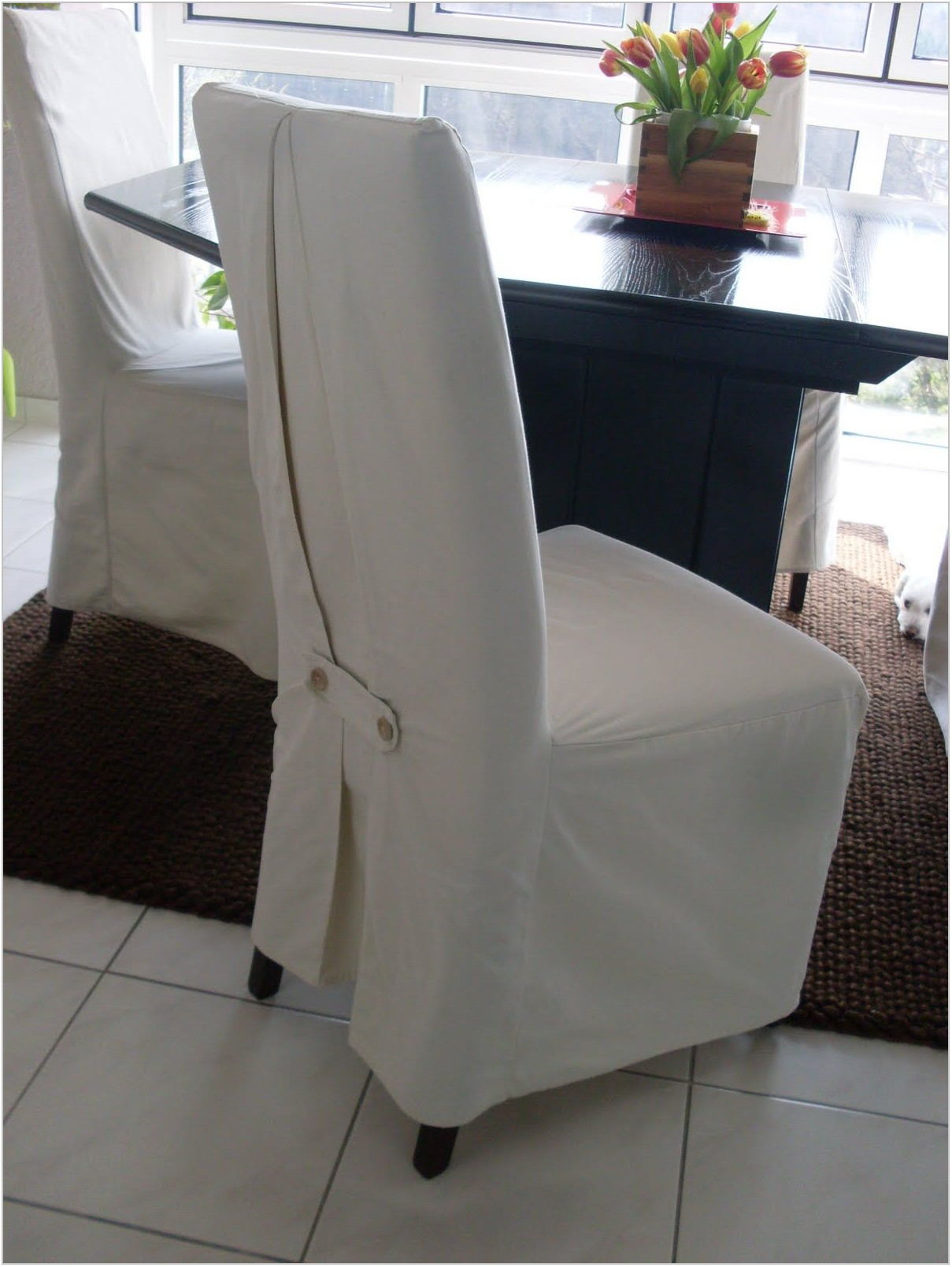 Fitted Dining Room Chair Covers