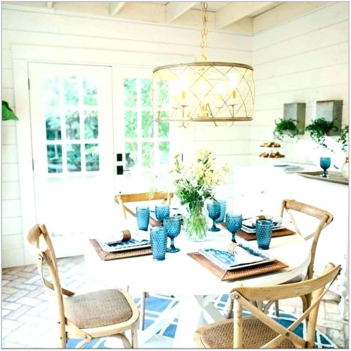 Fixer Upper Dining Room Lighting