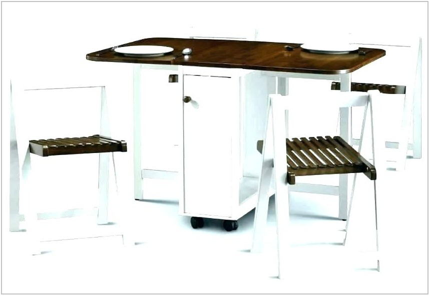 Foldable Dining Room Table And Chairs