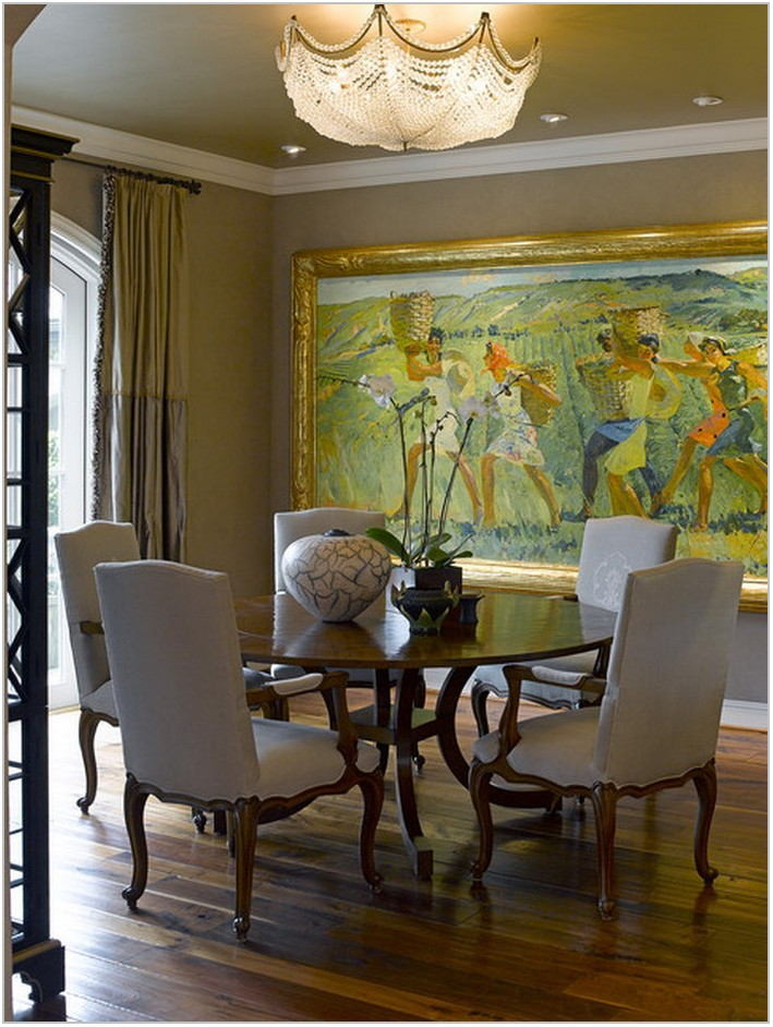 Formal Dining Room Art