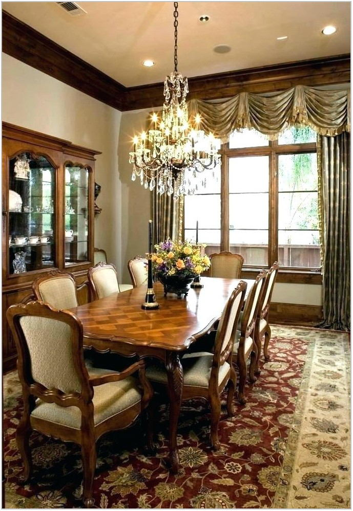 Formal Dining Room Curtains Ideas