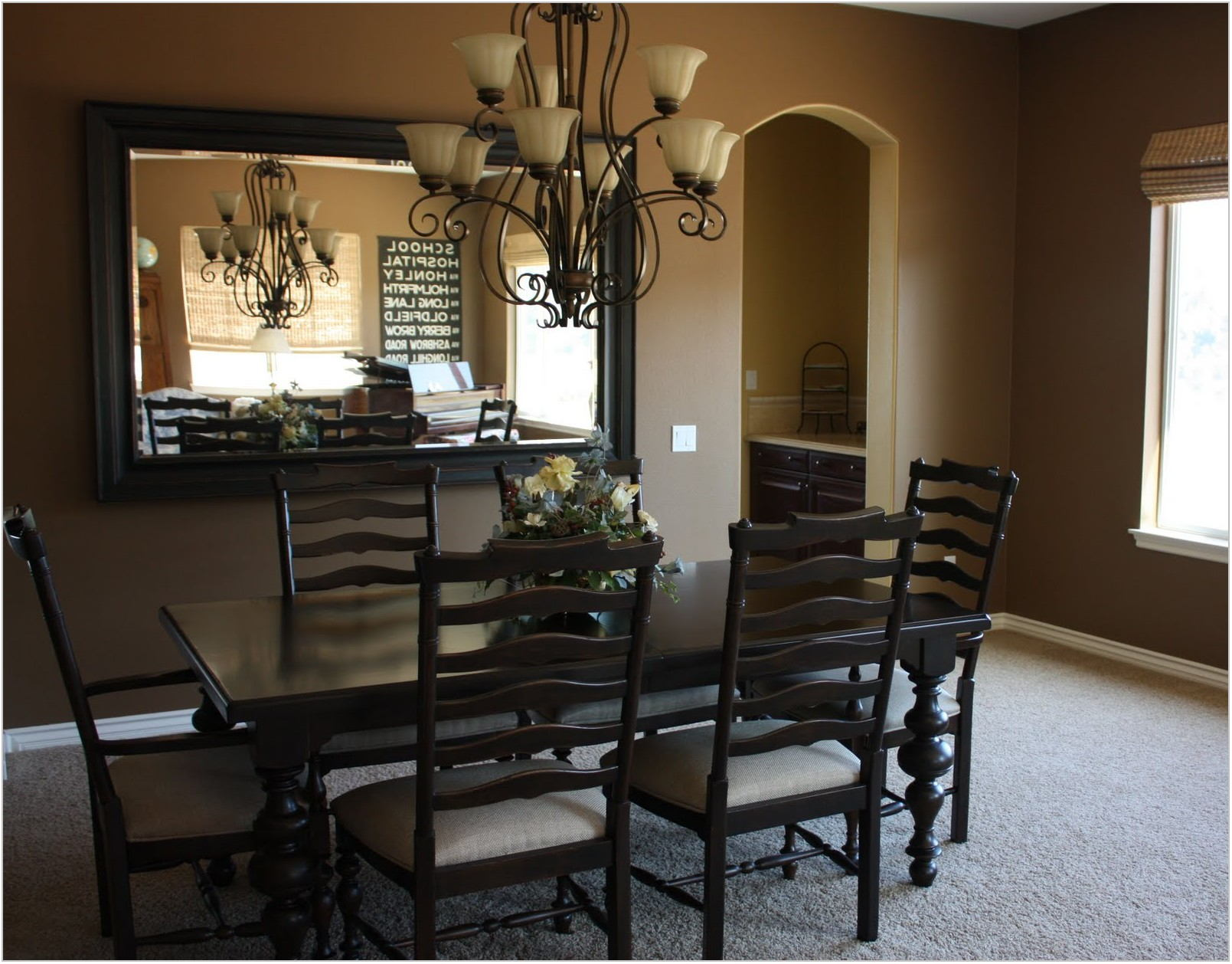 Formal Dining Room Mirrors